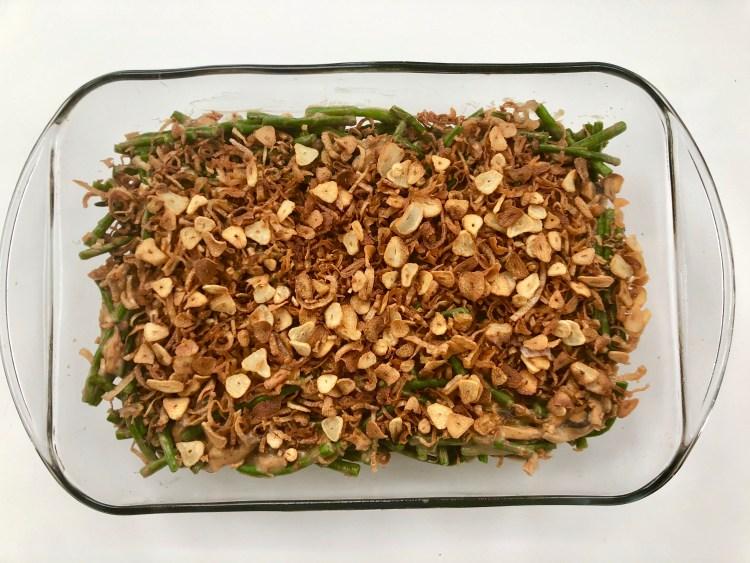 Doubanjiang Green Bean Casserole 2