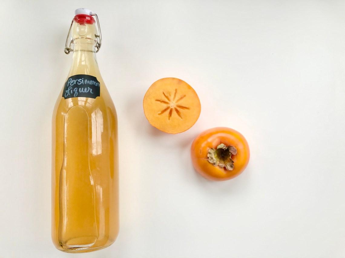 Persimmon Liqueur 1