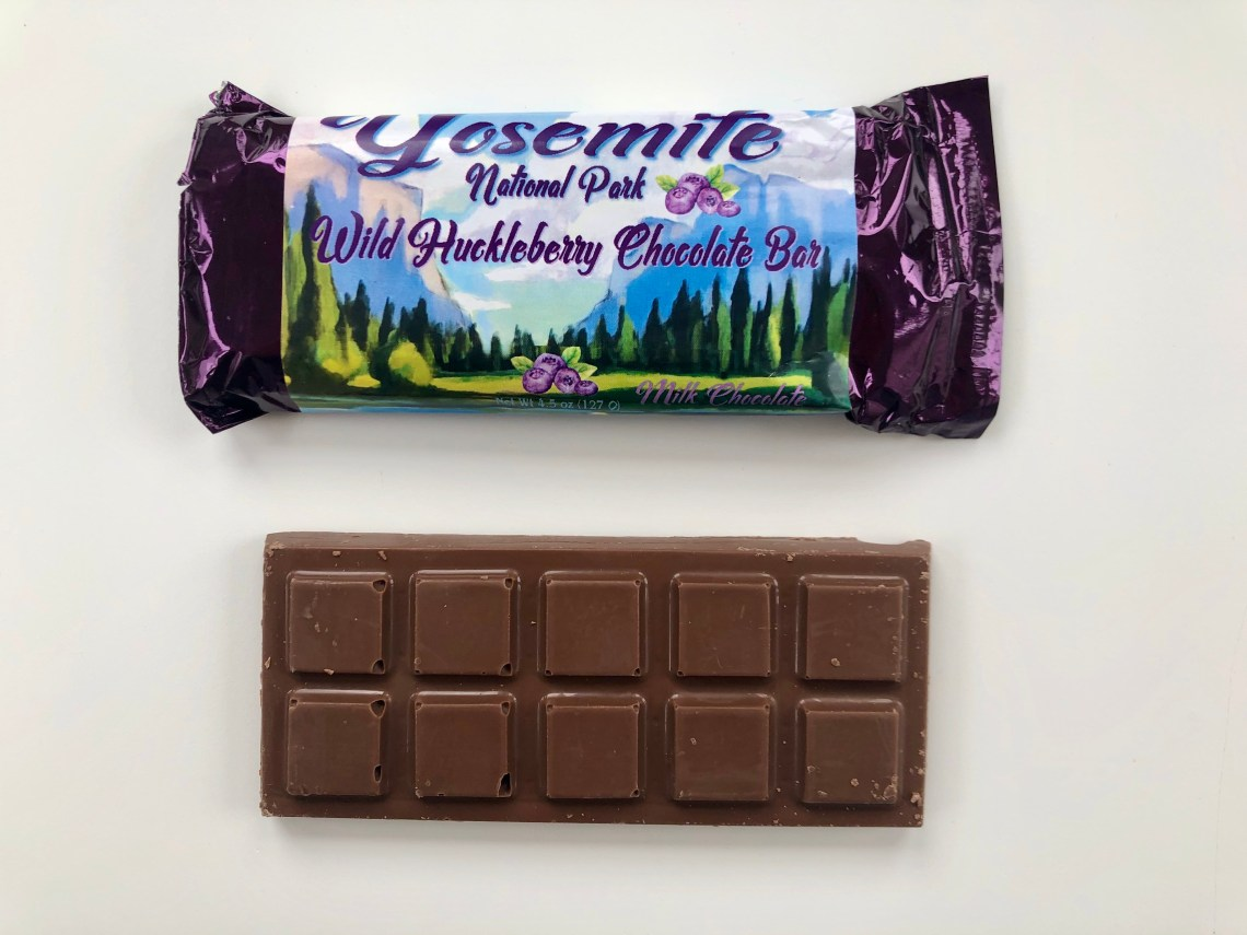 Yosemite Huckleberry Chocolate Bar