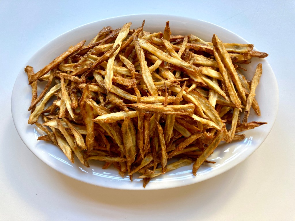 burdock root French fries
