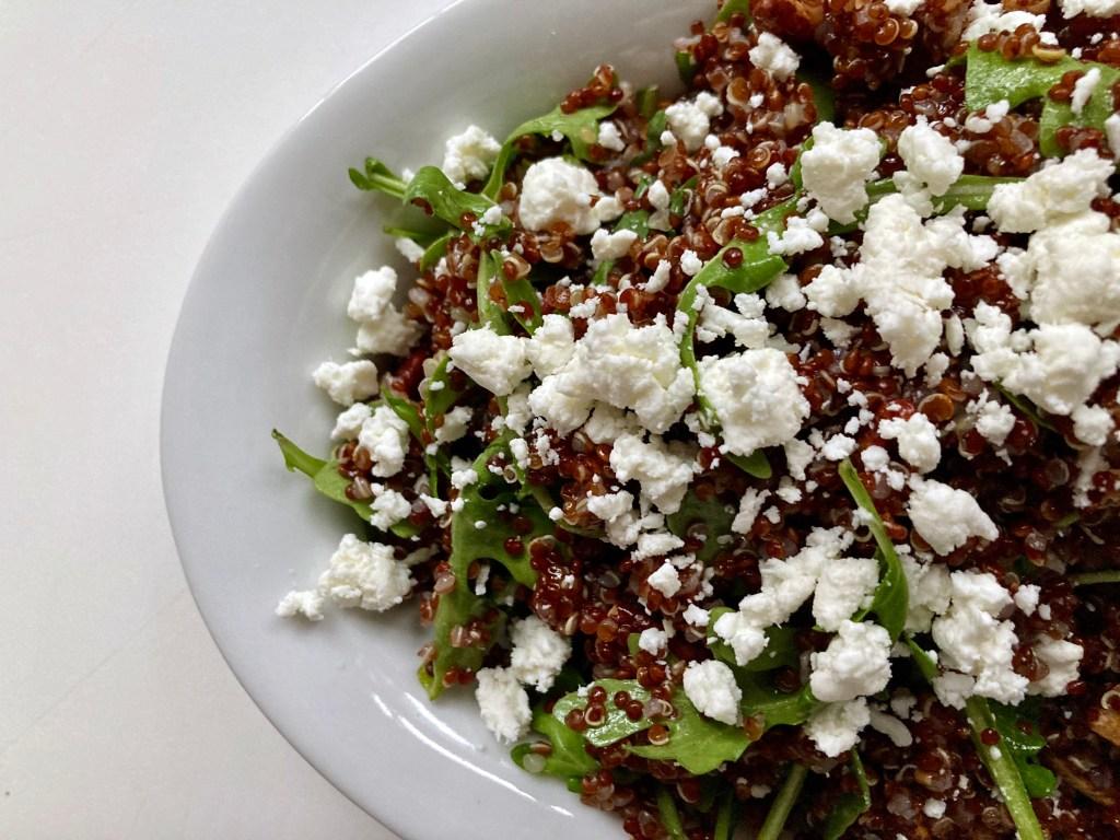 Quinoa Salad with Apple Pecan Dressing Recipe
