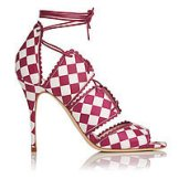Jerry Printed Leather Sandals
