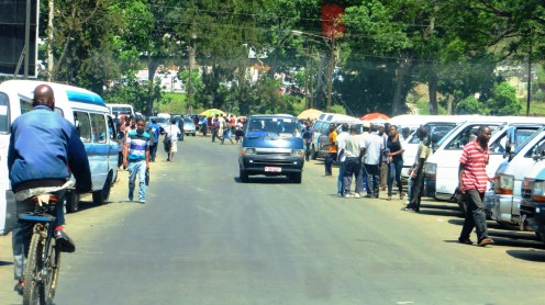 Outside Limbe Market
