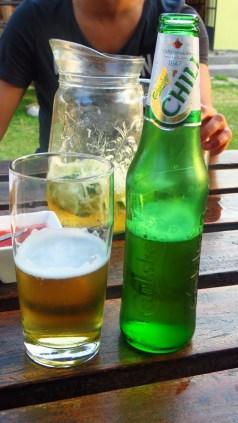Malawi's favorite beer, Carlsberg.