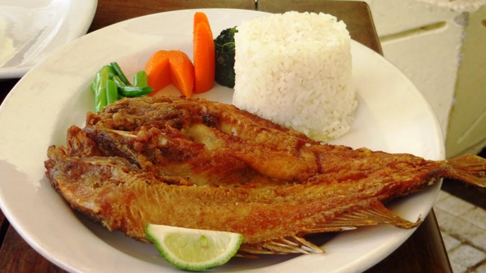 Malawi's favorite fish, Chambo.