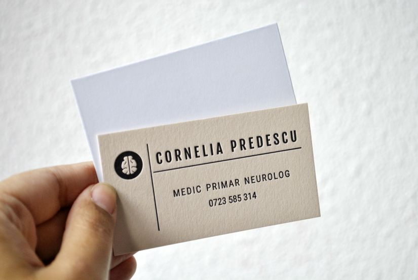 custom letterpress calling cards