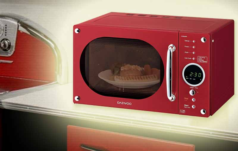 best retro style microwave ovens