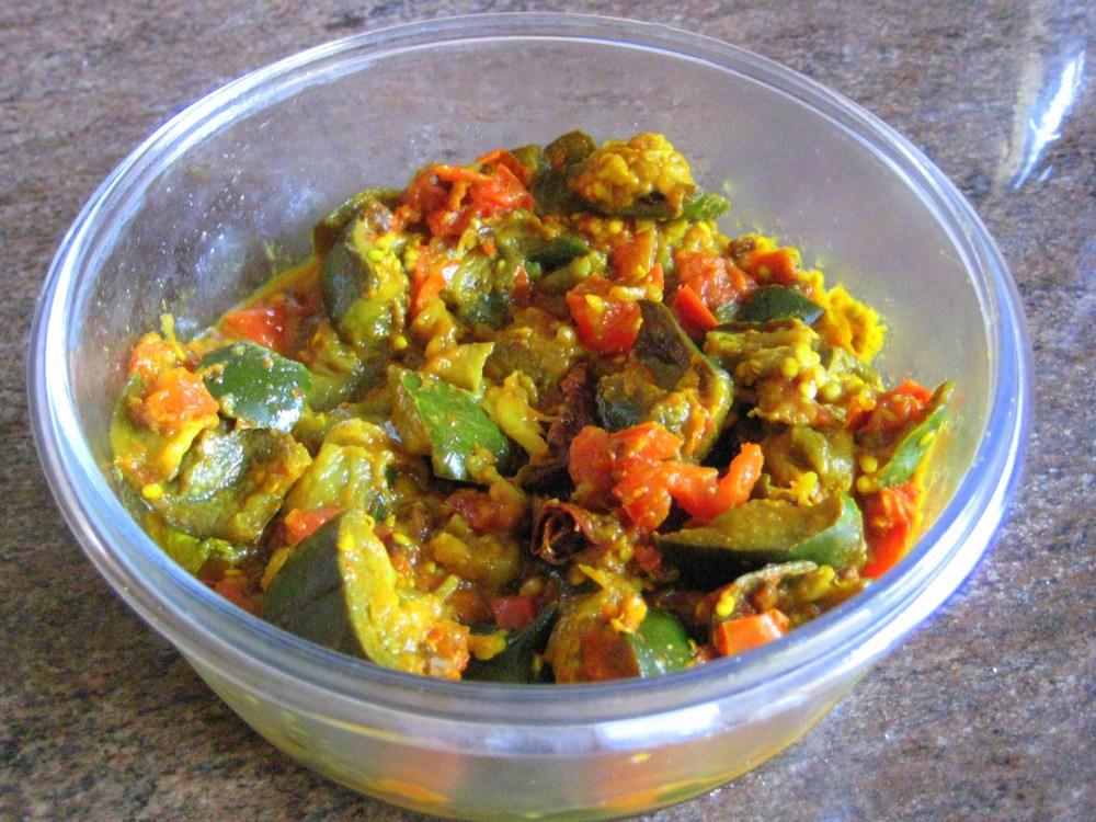 Culinary Series - Simple and delicious Baingan Bhaji (2/2)