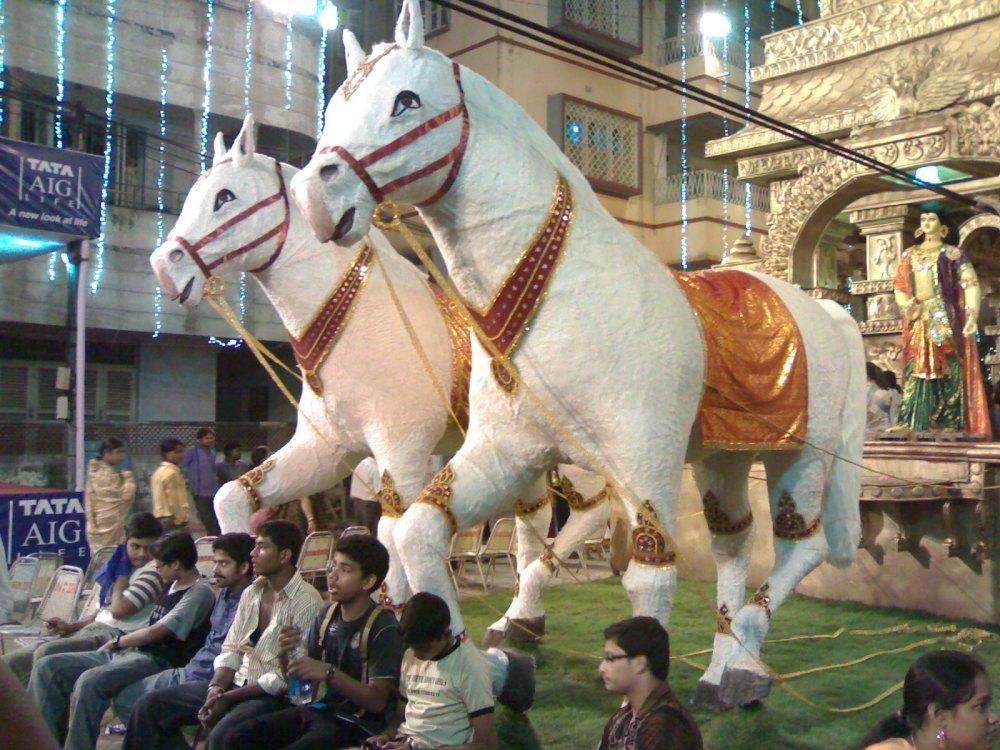 Pandal Hopping - Kolkata,2008 - Part 1  (1/6)