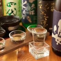 日本酒飲み比べ