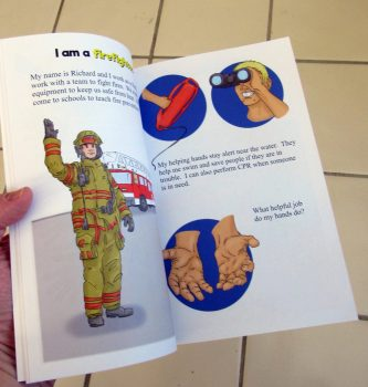 helping hands paperback cover 1