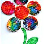 Art Activities For Kids Spring Flower Craft Fun Littles