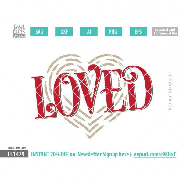 Download Loved svg - FunLurn SVG