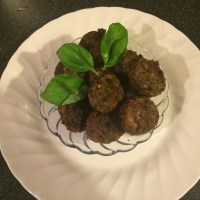 Aubergine 'No Meat' Meat Balls