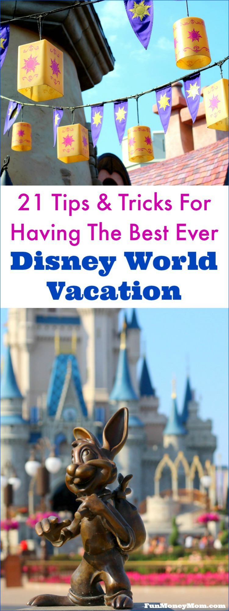 Want to have the best Disney World vacation ever? Use these 21 tips and tricks for navigating Disney and you'll have a magical time!