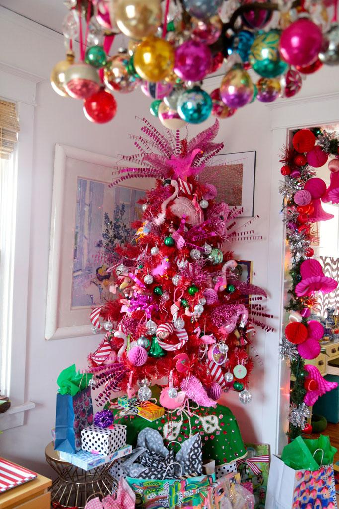 Pink-flamingo-christmas-tree