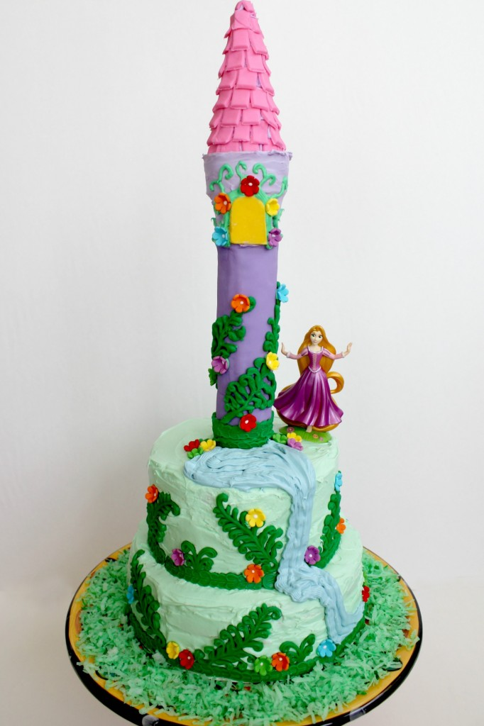 Your Rapunzel cake wouldn't be complete without the guest of honor, Rapunzel