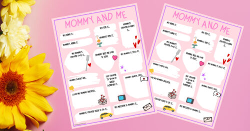 Mother's Day Questionnaire facebook