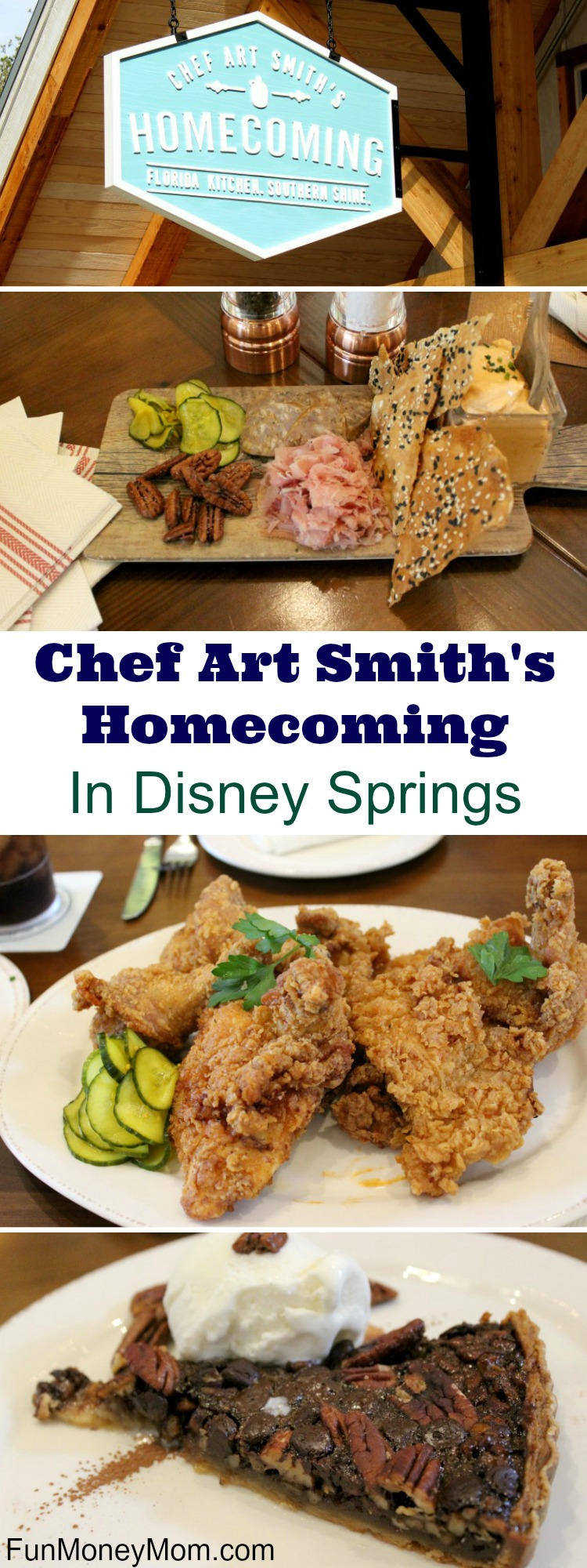 Heading to Disney Springs? If you like good ol' fashioned southern cooking, you're going to want to head straight to Chef Art Smith's Homecoming!