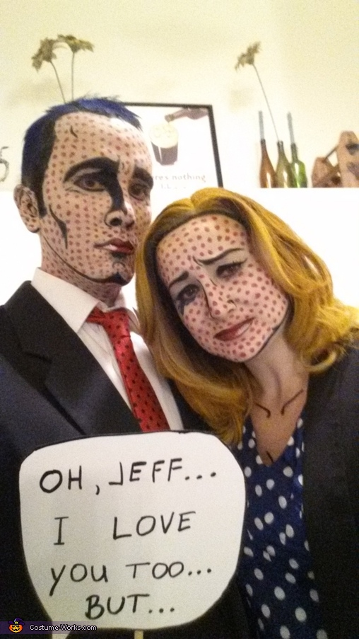For a unique couples costume, why not dress up as modern art