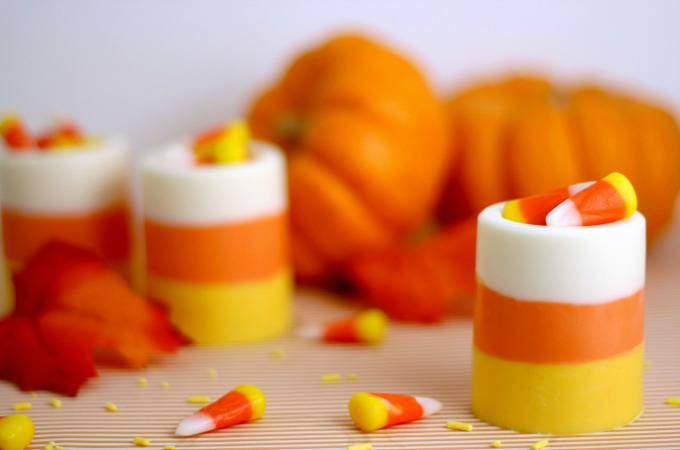 Candy corn cups new feature
