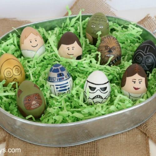 Star Wars Easter egg decorating ideas