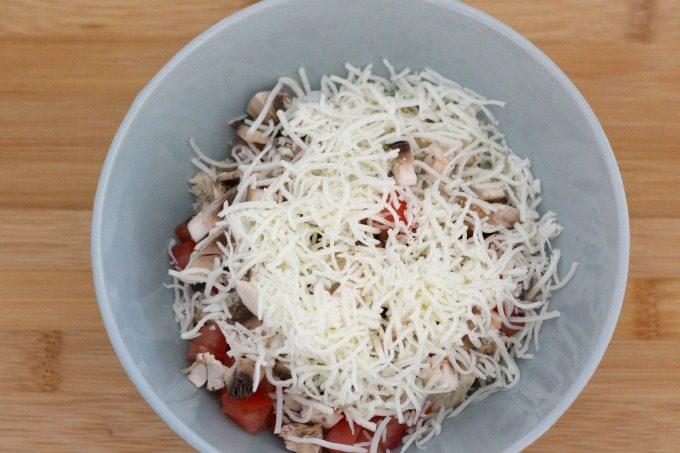 Add mozzarella cheese