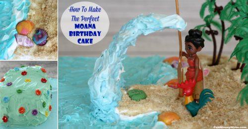 Making the perfect Moana cake facebook