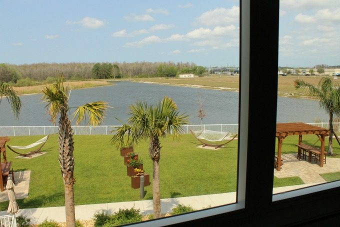 View from our room in Pasco county