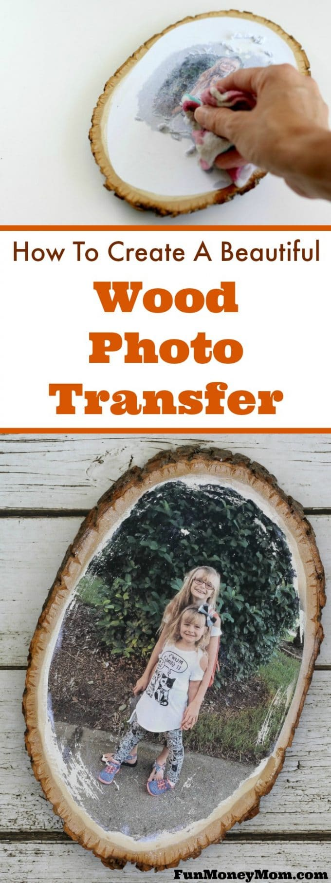 Whether you're looking for a creative photo gift, a new way to display family photos or just some fun personalized home decor, this DIY Wood Photo Transfer is perfect (and you won't believe how easy it is).