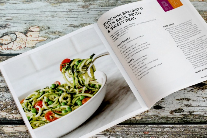 The recipe book has plenty of great ideas for breakfast, lunch and dinner
