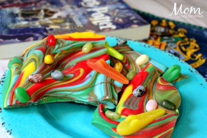 Harry Potter candy bark