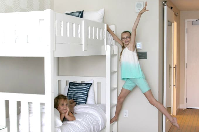 One thing we love about the Wyndham Grand Clearwater Beach is how family friendly it is