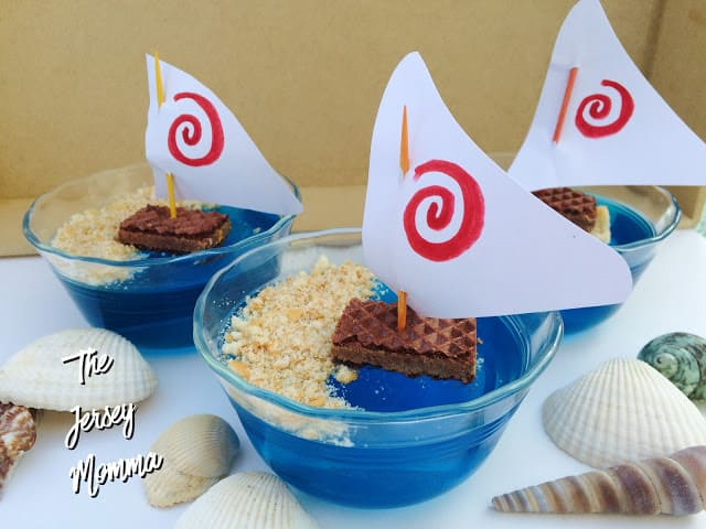 Moana themed party jello