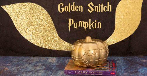 Golden Snitch Pumpkin FB