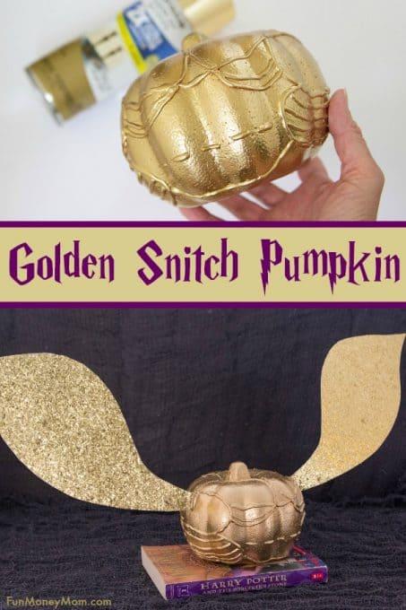 Golden Snitch Pumpkin