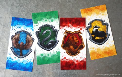 Bookmarks for a Harry Potter Goody Bag