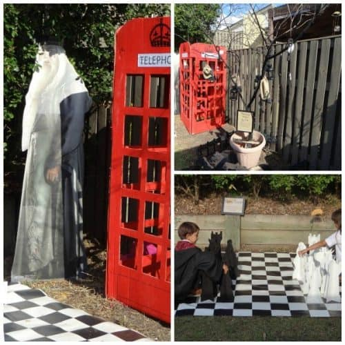 Harry Potter phone booth and more