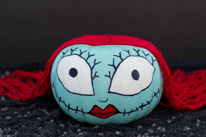 Sally Skellington Pumpkin for Halloween