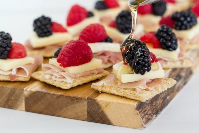 Honey gives this easy appetizer a little extra sweetness