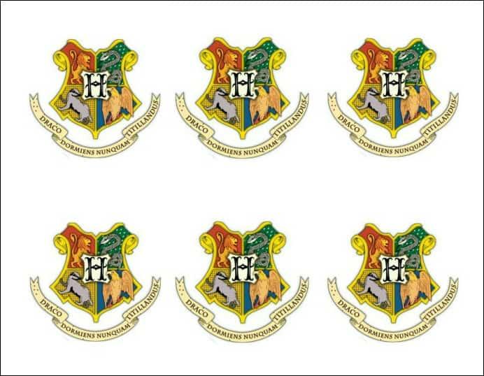 Hogwarts Stickers