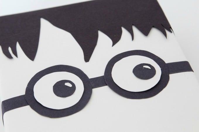 Harry Potter glasses for Valentine Box