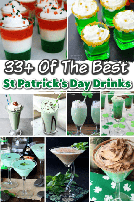 St Patrick's Day cocktails pin 2
