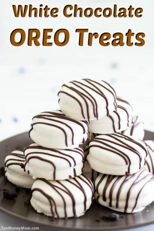 White Chocolate Covered OREOs Pinterest