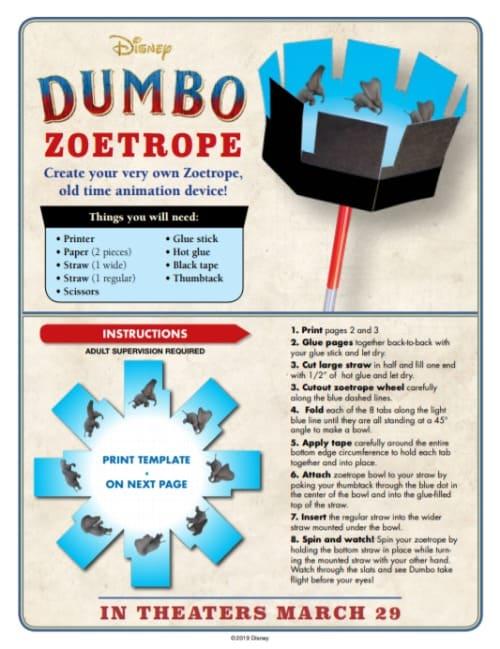 Dumbo Zoetrope