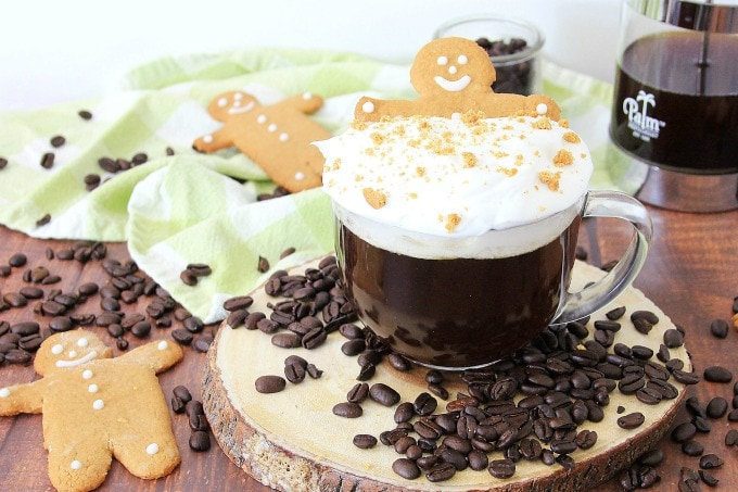 Coffee drink for the holidays