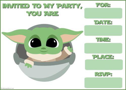 Baby Yoda in pod 680