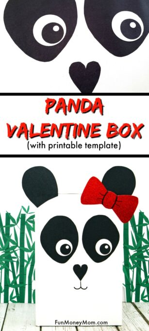 Panda Valentine Box Pin