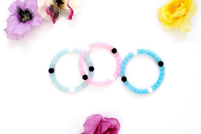 Bracelets for ring toss game