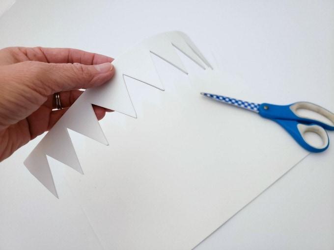 Teeth for shark valentine box